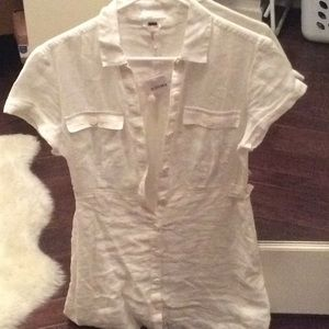 New with tags Free People shirt dress